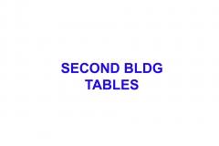 SECOND-BLDG-TABLES