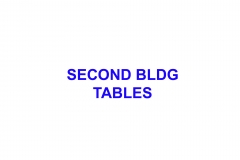 SECOND-BLDG-TABLES
